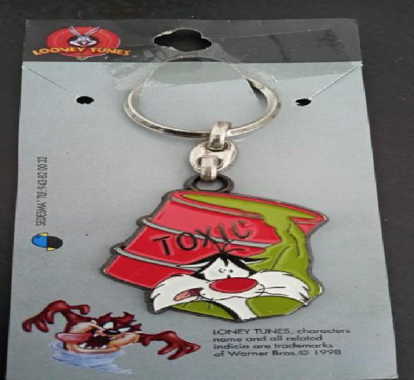 Llavero el gato silvestre looney tunes nuevo keychain 1998