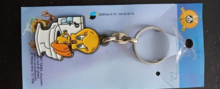 Llavero piolín looney tunes nuevo keychain 1998 tweety