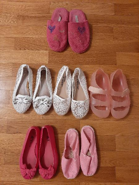 Lote calzado niña 28-31