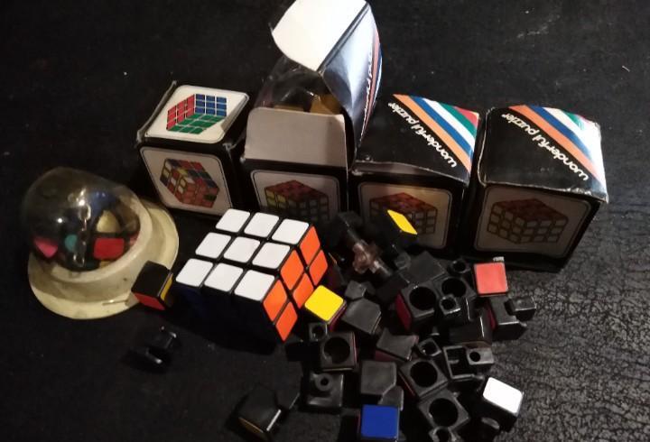 Lote de puzzles estilo rubik años 80 (con defecto para