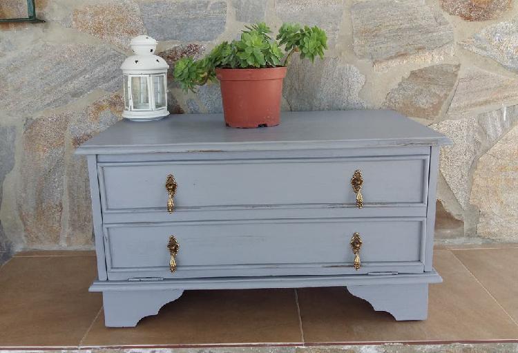 Mueble bajo vintage (41 alto x 73 largo x 42 ancho