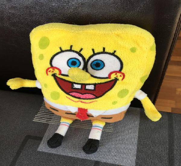 Peluche de bob esponja, mide 20 cm