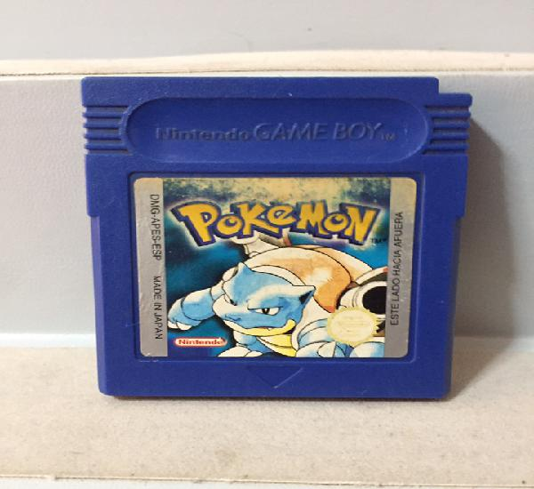 Pokemon edición azul nintendo game boy pal españa