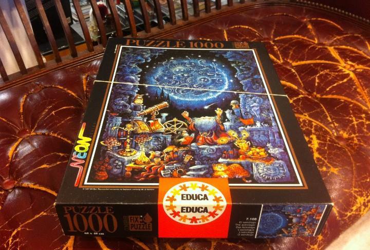 Puzzle 1000. educa. neon. el astrólogo. 68 x 48cm