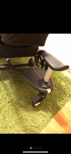 Patin bugaboo con asiento y adaptadores