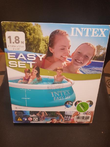 Piscina hinchable 183*51 para niños y adultos