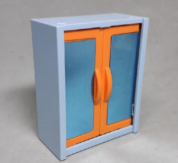 Playmobil armario azul claro/naranja