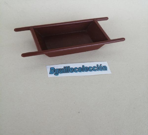 Playmobil cubo cubeta oeste medieval granja obra