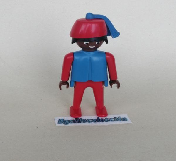 Playmobil figura clásica antigua moro con fez