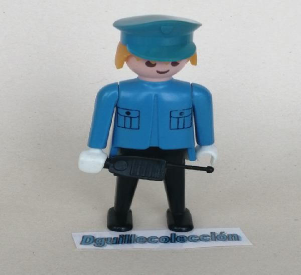 Playmobil figura clásica época policía