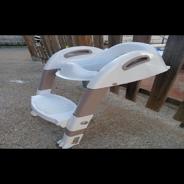 Reductor wc infantil con escalera