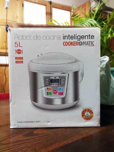 Robot de cocina cookermatic - capacidad 5 litros