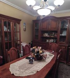 Salón comedor madera maciza