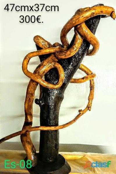Esculturas de madera 8