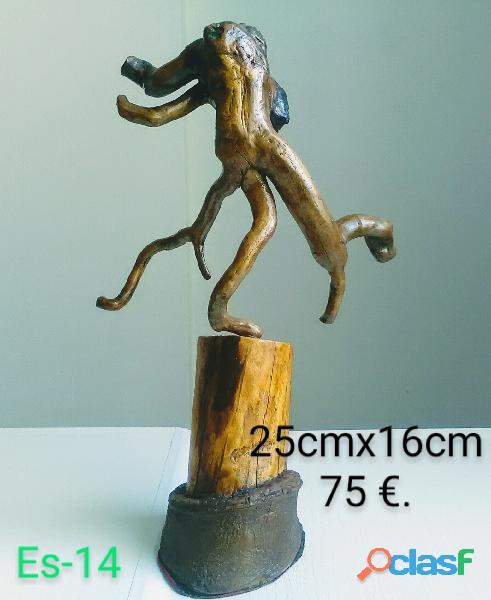 Esculturas de madera 12