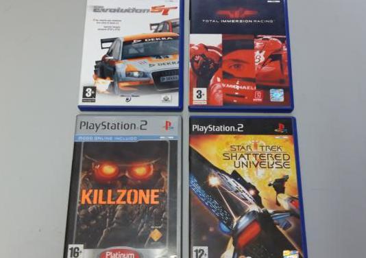 4 juegos play station 2 y regalos