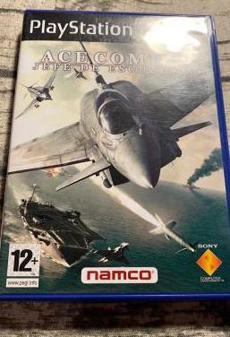 Ace combat jefe escuadrón ps2 pal
