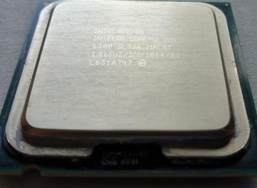 Cpu intel core 2 duo e6300 e6420 e7400 socket 775