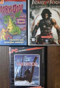 Cd-rom pack juegos videojuegos nuevos antiguos