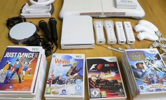 Consola nintendo wii, accesorios y juegos
