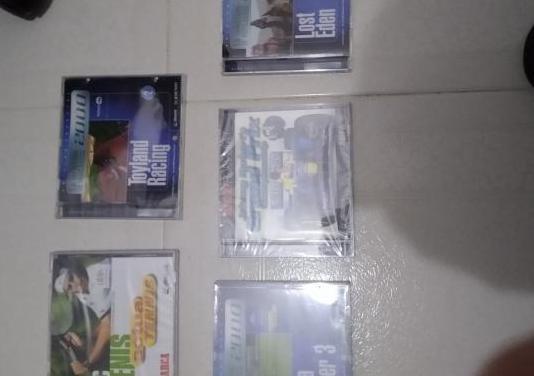 Lote de 5 juegos de pc antiguos