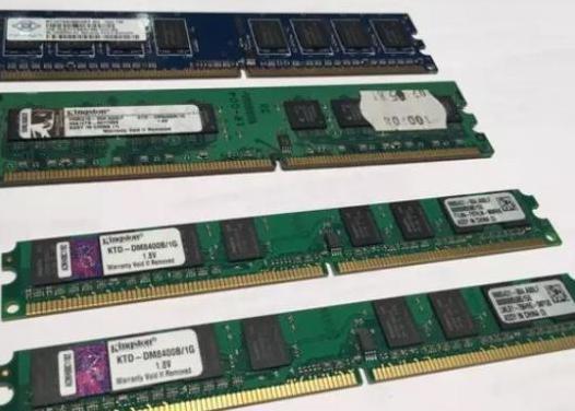 Memorias ram 1gb ddr2 pc2-6400