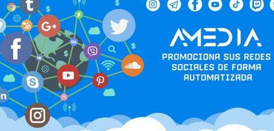 Promocion de redes sociales