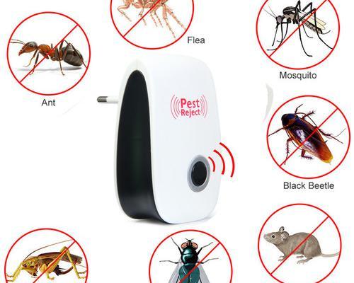 Repelente insectos ultrasónico pestreject