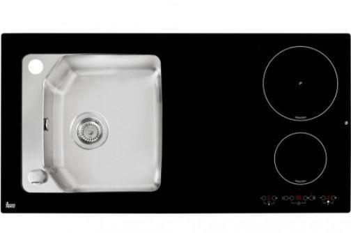 Teka 10307001 - fregadero con placa de inducción compact