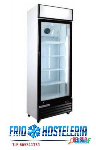 Armario expositor refrigerado puerta cristal serie line.. 385 €...