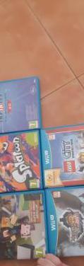 Wii u con 5 juegos