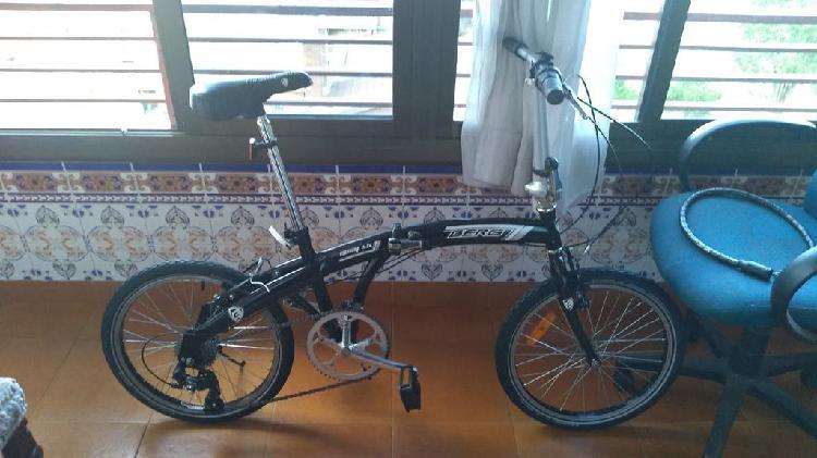Bici plegable rodado 20