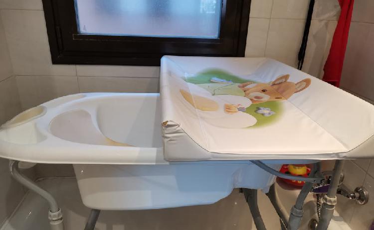 Bañera cambiador cam