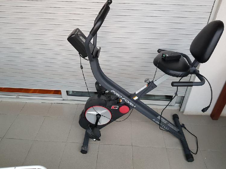 Bicicleta estática pro form