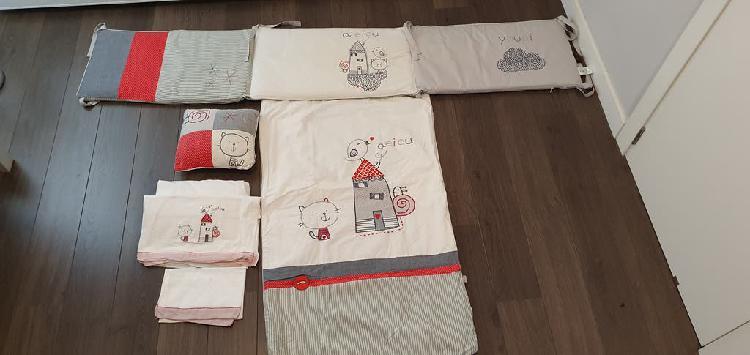 Chichonera funda almohada y sabanas