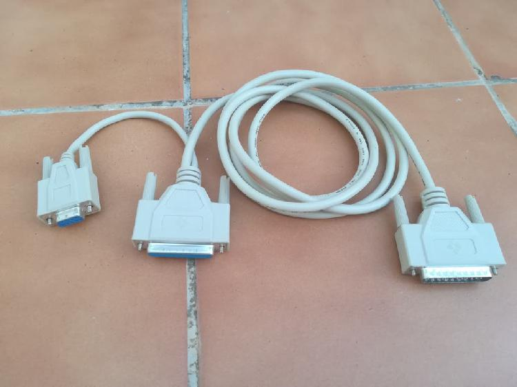Cable com puerto de ordenador