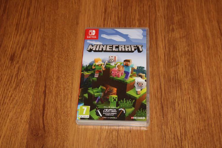 Caja original minecraft switch nintendo juego