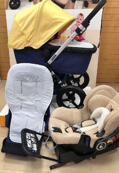 Carro trio borsino anne 2 + base isofix