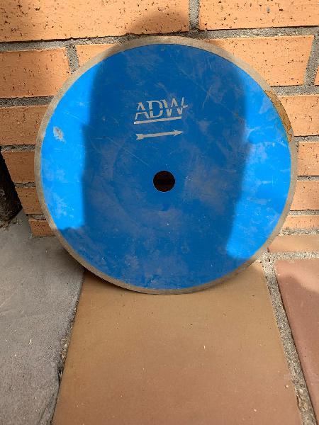Disco diamante adw material 300mmx25,4mm