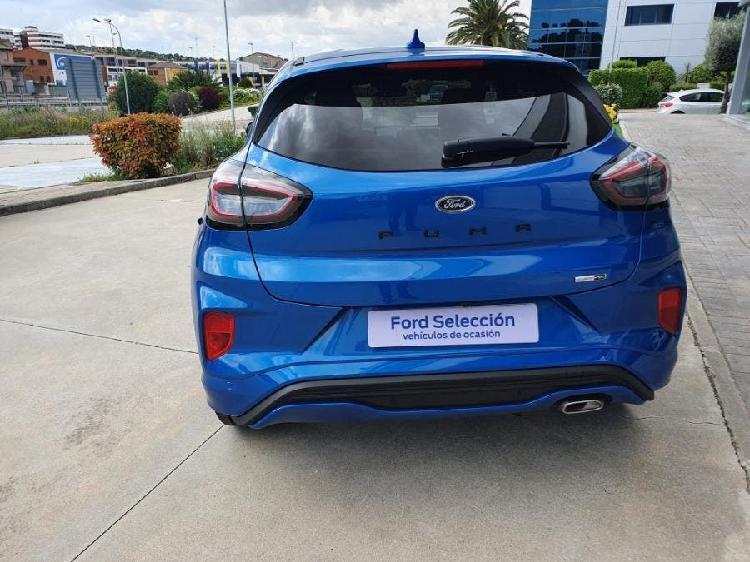 Ford puma 1.0 ecoboost 92kw stline x mhev