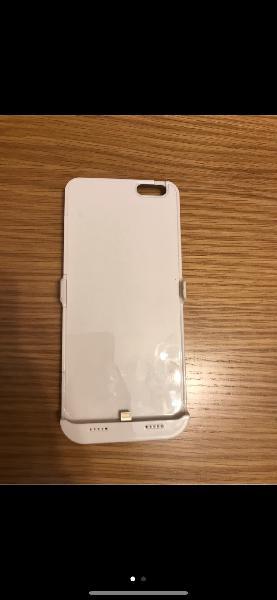 Funda iphone 6 plus con cargador