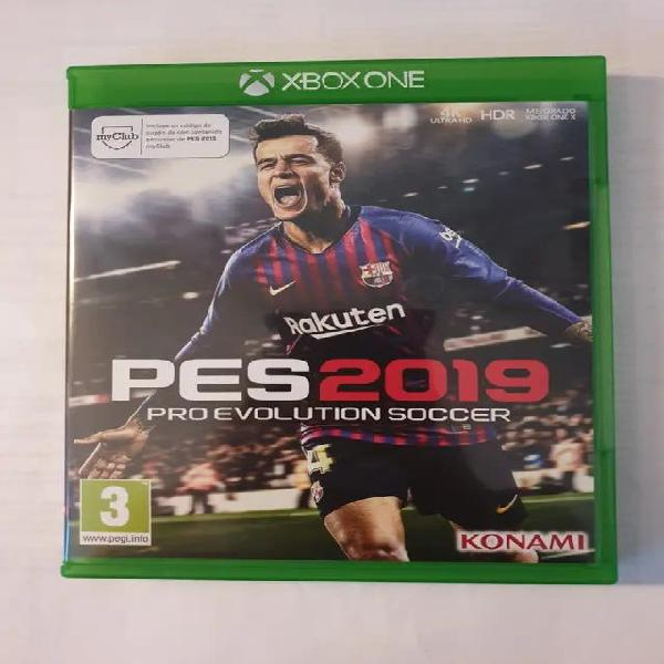 Juego pro evolution soccer 2019, pes 2019 xbox one