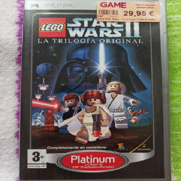 Lego star wars ii psp