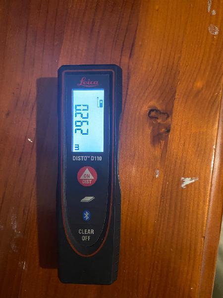 Medidor láser leica disto d110