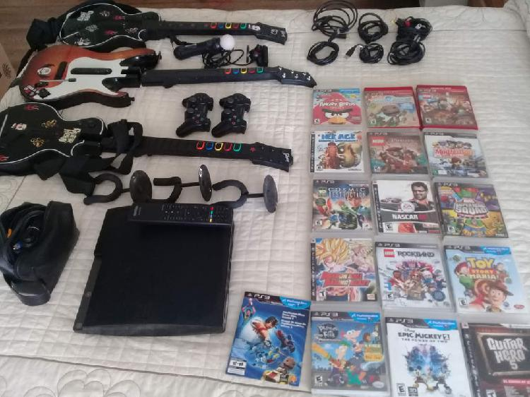 Ps3 play station 3 con 16 juegos