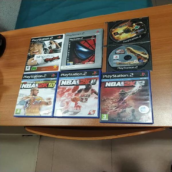 Pack videojuegos ps2