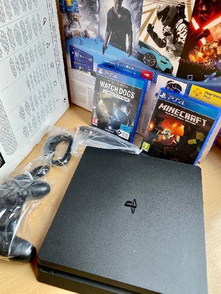 Ps4 500gb. completa con mando y juegos