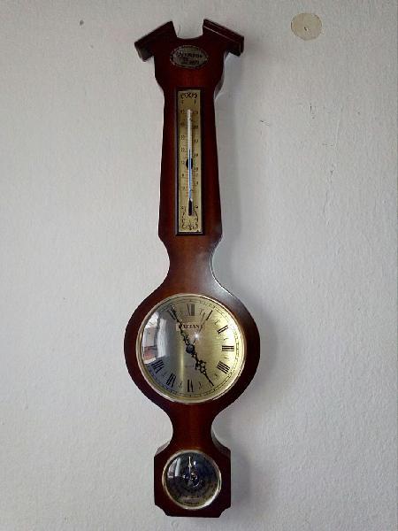 Reloj + barómetro + termómetro radiant en perfecto