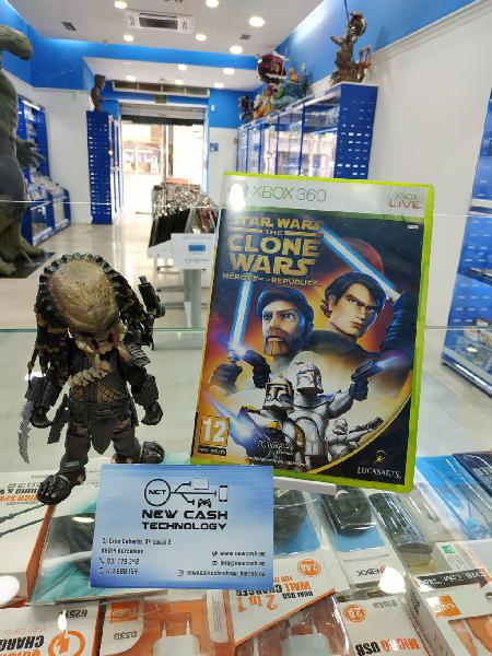 Star wars the clone wars xbox 360 impecable