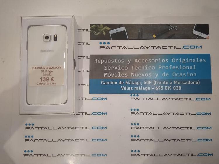 Samsung galaxy s6 edge usado y con 1 año garantía
